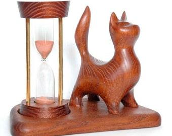 Sand hourglass  Wooden hourglass  Hourglass timer Sand timer Wooden sand clock  Sandglass  Hourglass kit
