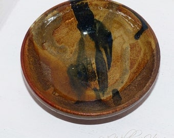 Vintage Hand thrown bowl,  Candy Dish   504