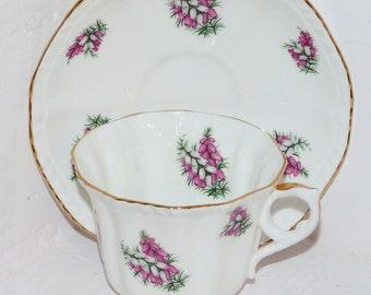 Royal Grafton Teacup and Saucer Heather Pattern - 430