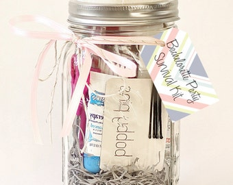 Printable Survival Kit Tags / Bachelorette Party/ Wedding Day