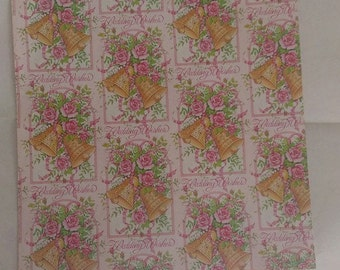 Vintage wedding Wrapping Paper