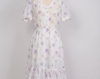 Lavender Flower Dress
