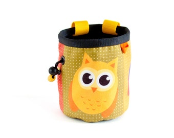 Climbing Chalk Bag, Chalkbag Climbing Equipment, Rock Climbing Gifts M Size