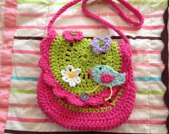 Handmade girls custom purse