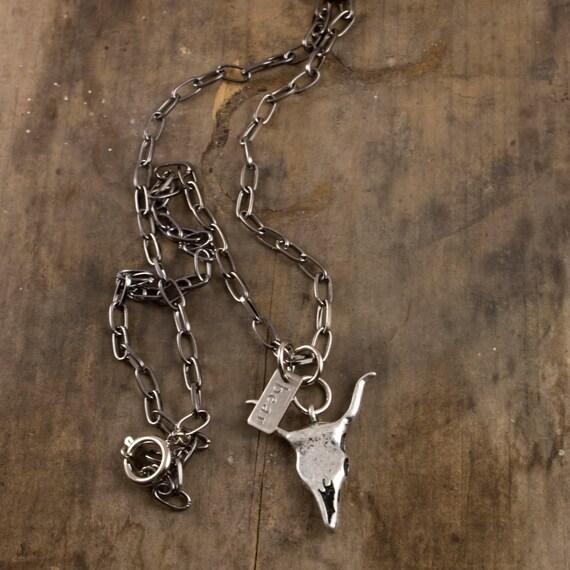 toro necklace bull pendant cow skull necklace s