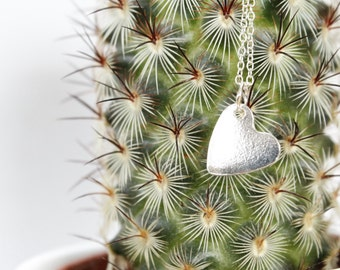 Rag & Bottles Heart Charm Necklace