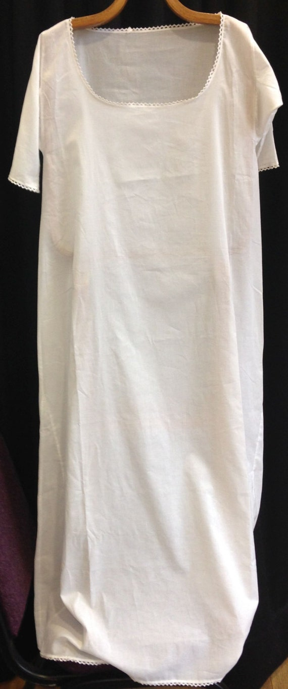 Chemise Shift In Cotton Lawn 18th Century Tunic Pattern