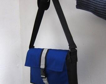 Ultramarine Cross Body Bag, Messenger Bag, Blue Shoulder Bag, Bright Blue Crossbody Bag, Water-Resistant, Waterproof Bag, Shoulder Purse