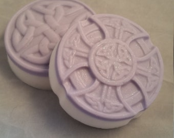 celtic soap, knot soap