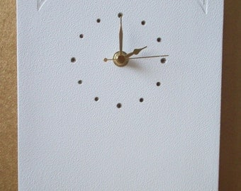 Hand Crafted Ceramic Celtic Detailed Wall Clock