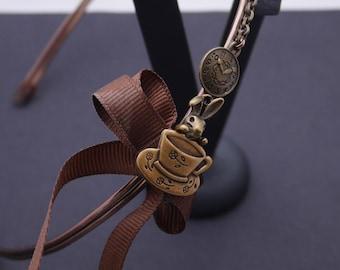 Headband steampunk Alice in Wonderland, steampunk accessory, steampunk hairstyle