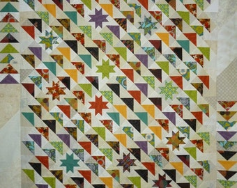 DUE SOUTH Patchwork Quilt