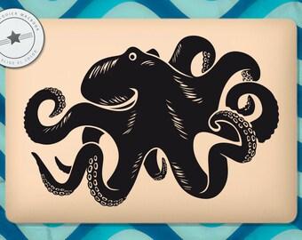 Octopus vinyl for MacBook