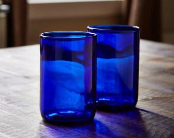 Cobalt Wine Glasses (set of 2)