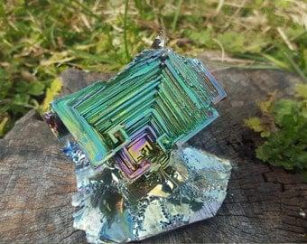 253 Gram Rainbow Bismuth Crystal