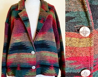 Southwest woven jacket