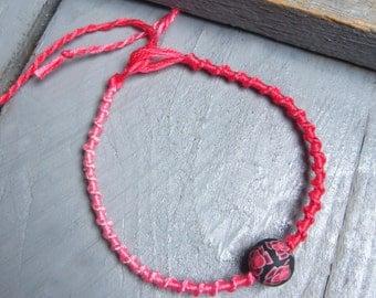 Bracelet link lucky tie