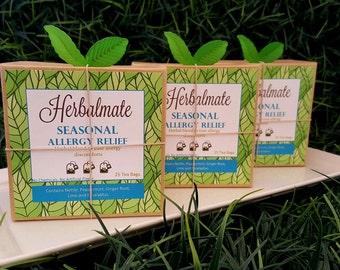 Seasonal Allergy Relief Tea / Allergies Remedy / 25 Bags of Tea