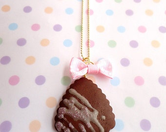 Charming Chocolate Biscuit With Icing