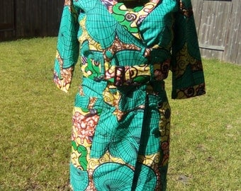 Ankara 3/4 Trench Coat