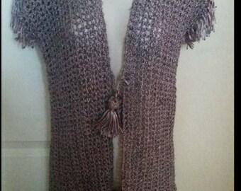 Crochet vest handmade