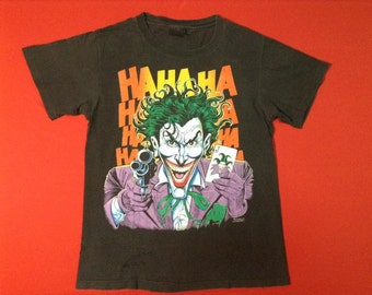 vintage JOKER marvel comic t-shirt