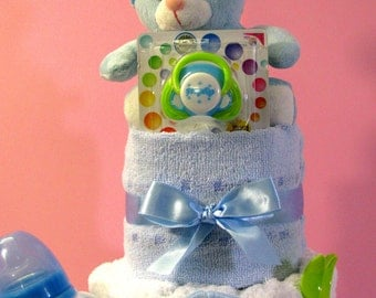 Diapers cake for Baby Shower, Birthday