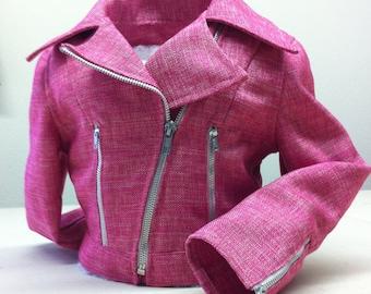 Rockin' Pink Biker Jacket