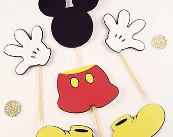 18 Disney inspired cupcake toppers