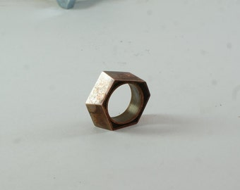 Copper ring  Oxidized  Rings  Hammered band Unisex ring  Copper jewelry  Personalized jewelry Organic ring Original jewelry