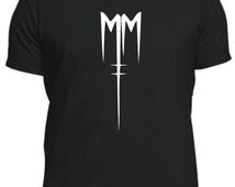 like MARILYN MANSON MM T-Shirt, new male or female, different colours, music tee