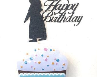 Happy Birthday Reaper Cake Topper