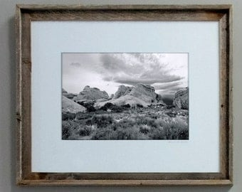 22x28 - Coming Rain - Arches National Park