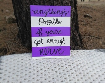 Anything's Possible canvas