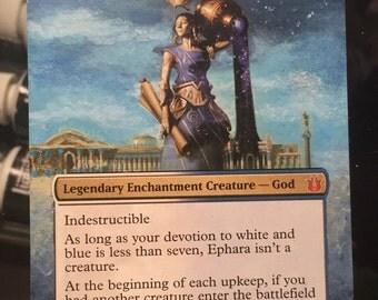 Ephara God of the Polis MTG Extended Border Alter