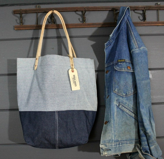 Denim Workwear Tote