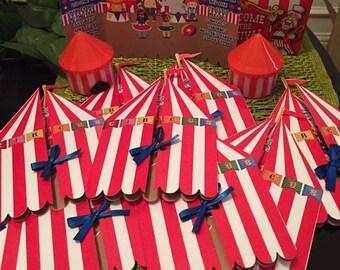 Invitation circus