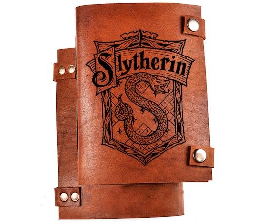 Slytherin notebook - Slytherin journal - Harry potter notebook - harry potter journal - slytherin logo - slytherin diary