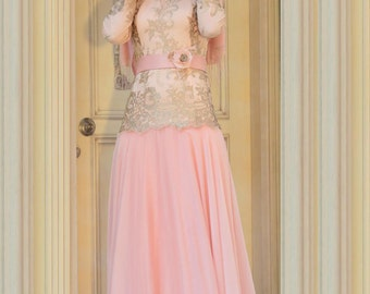 Pink Habibi Hijab Dress