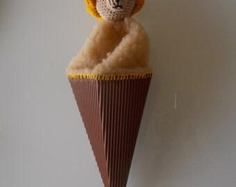 cone LION puppet