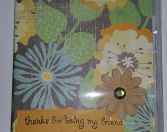 Floral Note Pad