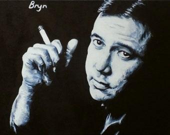 Original painting of Bill Hicks