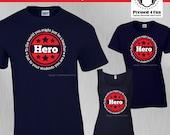 Teacher Shirts: Hero Desi...