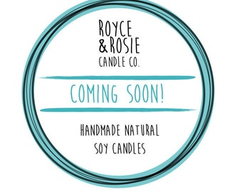 Hand Poured Natural Soy Candles