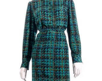 Devernois green shirt and matching skirt size 14/16