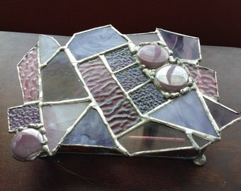 Stained glass art box