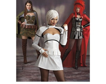 Sewing Pattern for Misses' Cosplay Costumes,  Simplicity Pattern 8201, Womens Intergalactic Warrior Costume, Sci-Fi