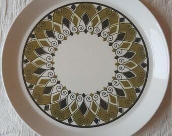 Mikasa BEN SEIBEL Hacienda Mid Century Dinner Plates - Set of 3