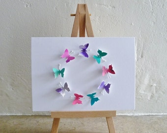 3D Butterfly Greetings Card for all occasions