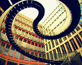 Infinity stairs in munich Bavaria